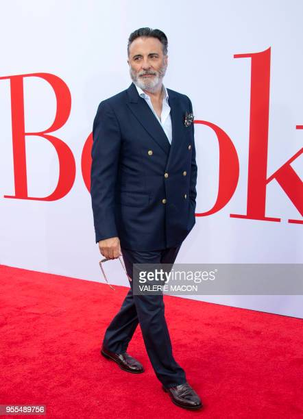 Actor Andy Garcia attends the Book Club premiere on May 6 2018 in Westwood California