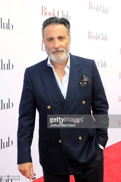 Actor Andy Garcia attends the Los Angeles premiere of 'Book Club' at Regency Village Theatre on May 6 2018 in Westwood United States