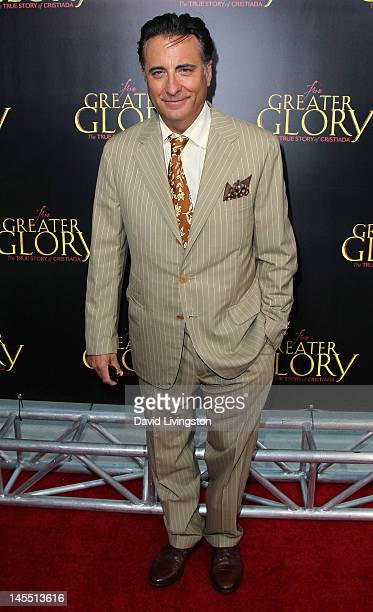 Actor Andy Garcia attends the premiere of ARC Entertainment's For Greater Glory at the AMPAS Samuel Goldwyn Theater on May 31 2012 in Beverly Hills...