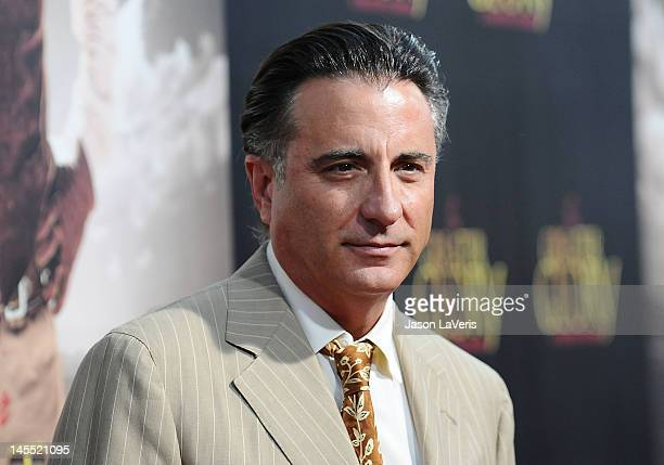 Actor Andy Garcia attends the premiere of 'For Greater Glory' at AMPAS Samuel Goldwyn Theater on May 31 2012 in Beverly Hills California