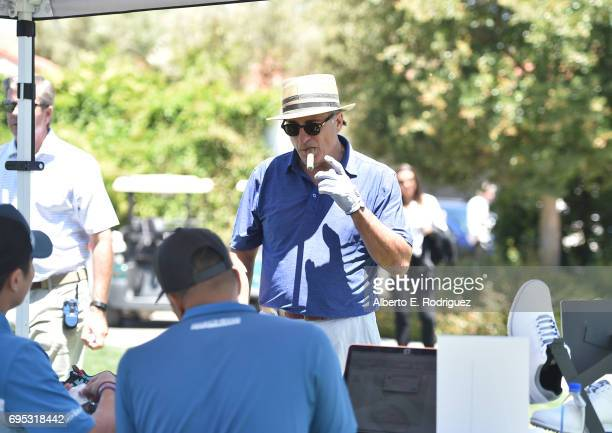 Actor Andy Garcia attends the SAGAFTRA Foundation 8th Annual LA Golf Classic Fundraiser at Lakeside Golf Club on June 12 2017 in Los Angeles...