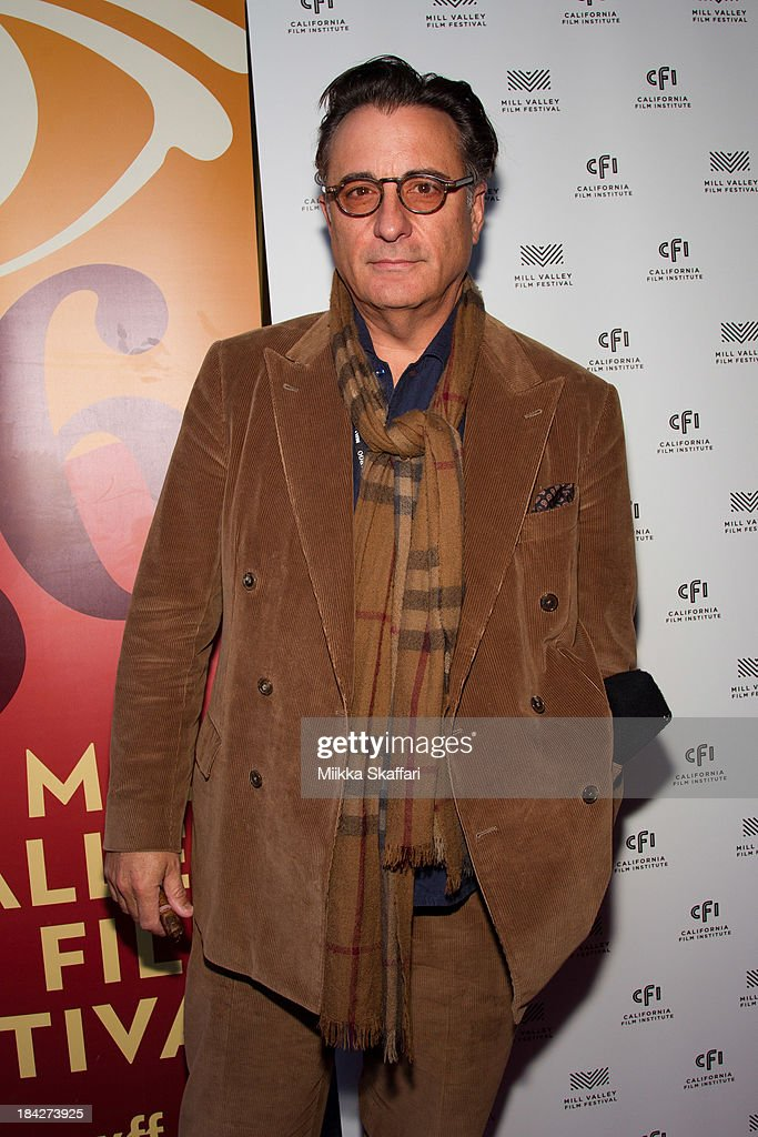 Actor Andy Garcia is arriving to the premiere of 'At Middleton' on October 12, 2013 in Mill Valley, California.