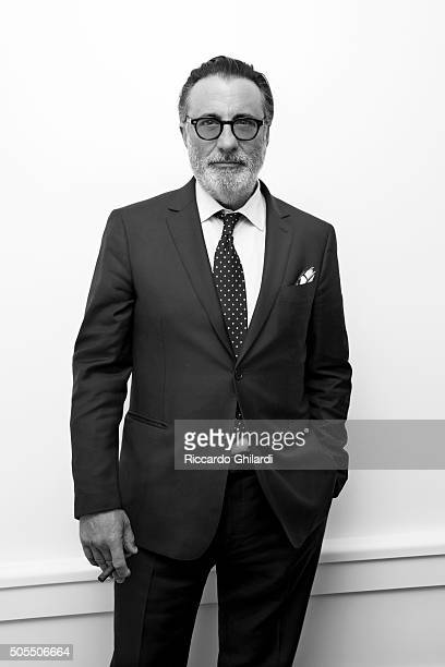 Actor Andy Garcia is photographed for Self Assignment on November 13 2015 in Los Angeles California