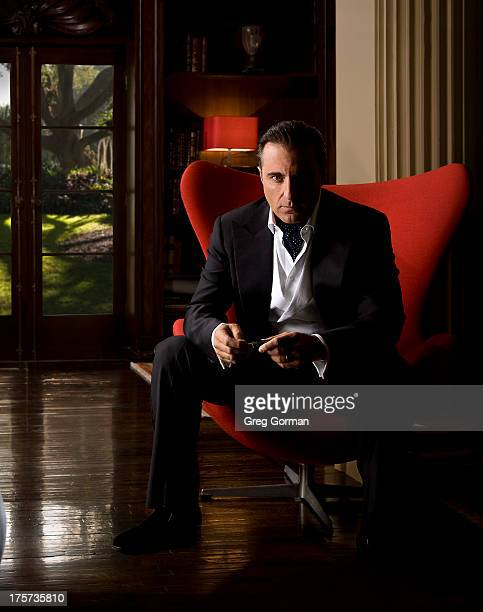 Actor Andy Garcia is photographed for Spec on November 30 2007 in Los Angeles California