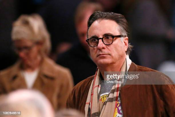 Actor Andy Garcia is seen at the game between the Los Angeles Lakers and the Cleveland Cavaliers on January 13 2019 at STAPLES Center in Los Angeles...
