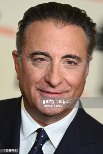 Actor Andy Garcia on the red carpet at the 2019 Gershwin Prize Honoree's Tribute Concert at DAR Constitution Hall on March 13 2019 in Washington DC