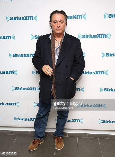 Actor Andy Garcia visits at SiriusXM Studio on November 4 2016 in New York City