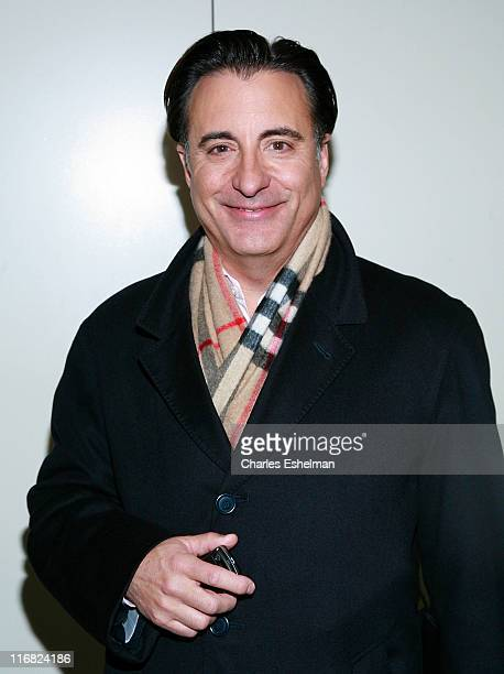Actor Andy Garcia visits FOX's 'The Morning Show with Mike and Juliet' at FOX studios on February 4 2009 in New York City