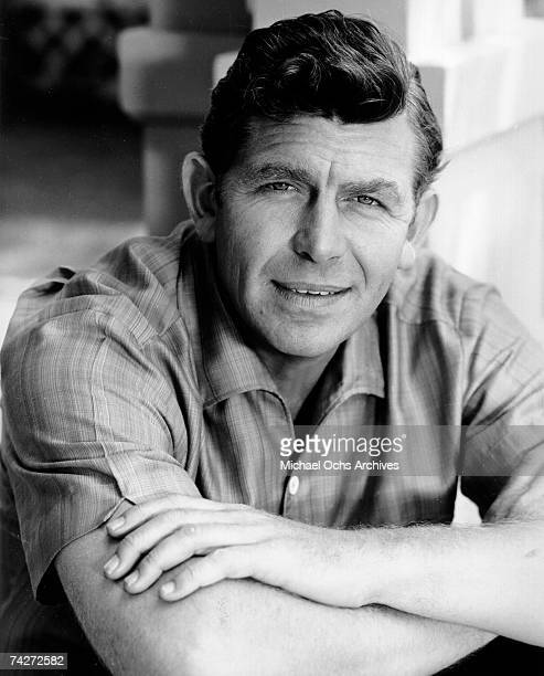 Actor Andy Griffith poses for a portrait circa 1962 in Los Angeles California