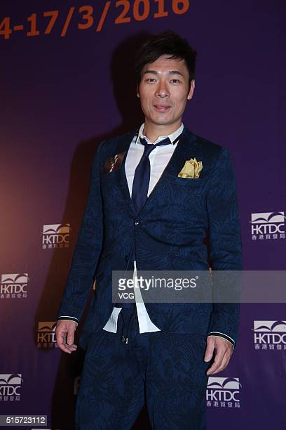 Actor Andy Hui ChiOn attends the press conference of director Herman Yau's film Nessun Dorma during the 20th Hong Kong International Film and TV...