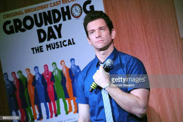 Actor Andy Karl attends 'Groundhog Day The Musical' signing and performance event at Barnes Noble 86th Lexington on May 19 2017 in New York City