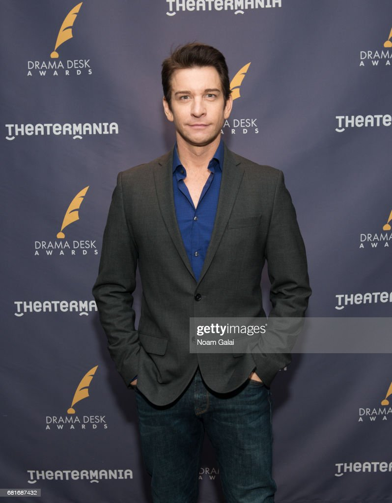 Actor Andy Karl attends the 2017 Drama Desk Nominees Reception at Marriott Marquis Times Square on May 10, 2017 in New York City.