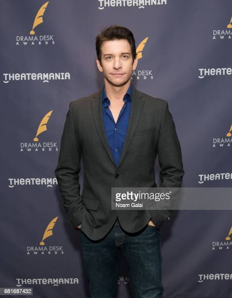 Actor Andy Karl attends the 2017 Drama Desk Nominees Reception at Marriott Marquis Times Square on May 10 2017 in New York City