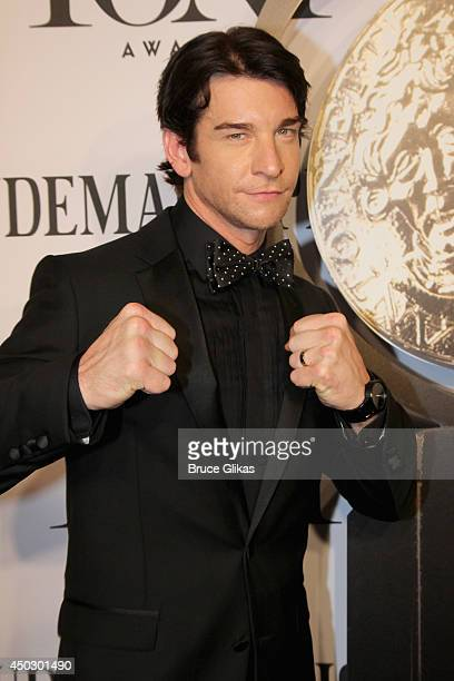Actor Andy Karl attends the American Theatre Wing's 68th Annual Tony Awards at Radio City Music Hall on June 8 2014 in New York City