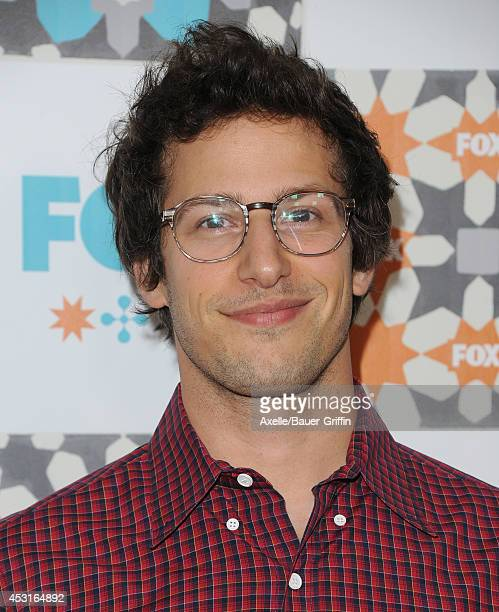 Actor Andy Samberg arrives at the FOX All-Star Party 2014 Television Critics Association Summer Press Tour at Soho House on July 20, 2014 in West...