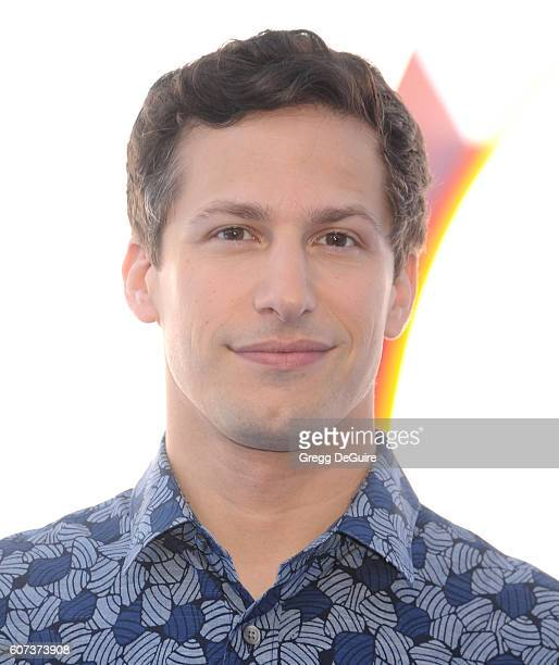 Actor Andy Samberg arrives at the premiere of Warner Bros Pictures' Storks at Regency Village Theatre on September 17 2016 in Westwood California