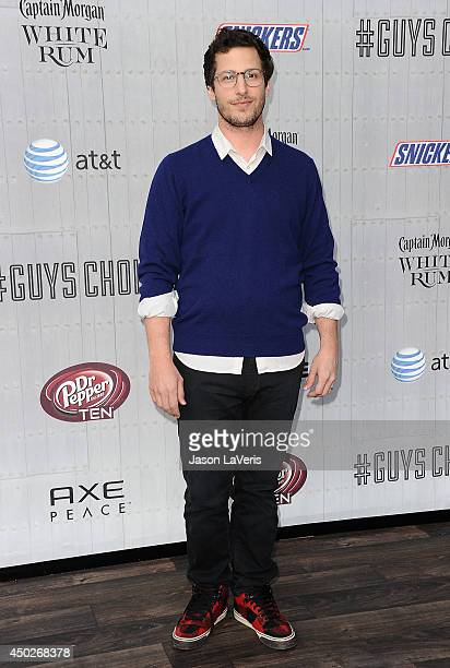Actor Andy Samberg attends Spike TV's 'Guys Choice' Awards at Sony Studios on June 7 2014 in Los Angeles California