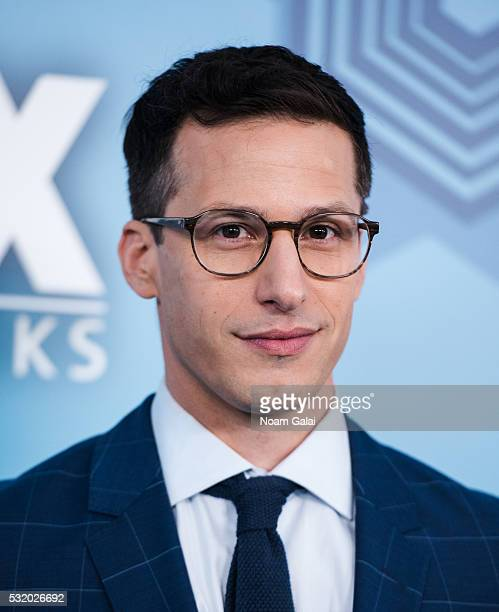 Actor Andy Samberg attends the 2016 Fox Upfront at Wollman Rink Central Park on May 16 2016 in New York City
