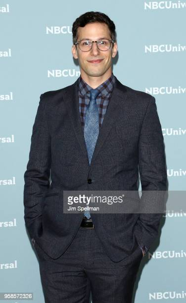 Actor Andy Samberg attends the 2018 NBCUniversal Upfront presentation at Rockefeller Center on May 14 2018 in New York City