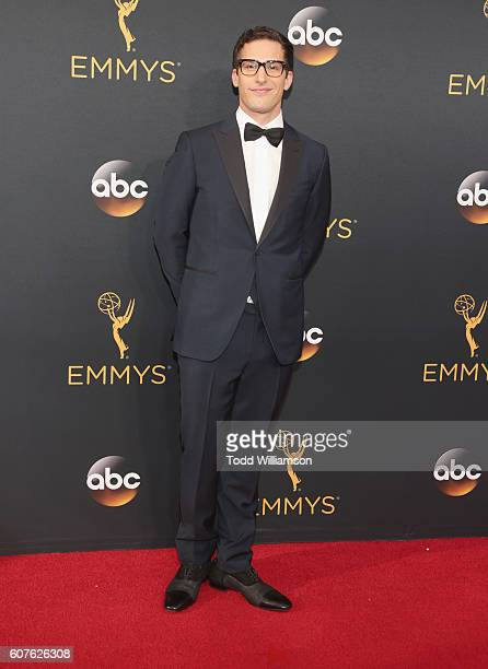 Actor Andy Samberg attends the 68th Annual Primetime Emmy Awards at Microsoft Theater on September 18 2016 in Los Angeles California