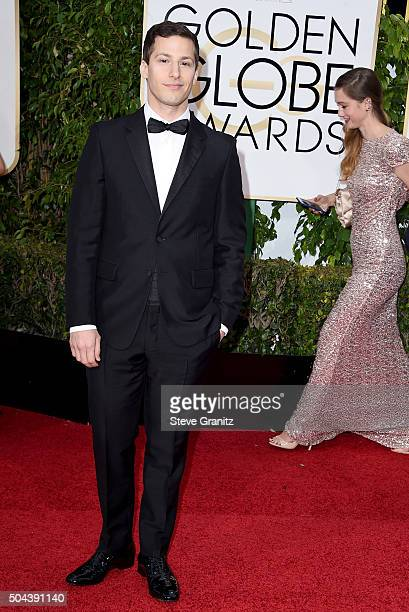 Actor Andy Samberg attends the 73rd Annual Golden Globe Awards held at the Beverly Hilton Hotel on January 10 2016 in Beverly Hills California