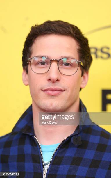 Actor Andy Samberg attends the 'Brooklyn NineNine' steakout block party and special screening event held at Universal Studios Backlot on May 22 2014...