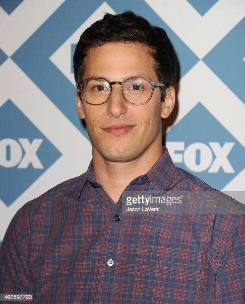 Actor Andy Samberg attends the FOX AllStar 2014 winter TCA party at The Langham Huntington Hotel and Spa on January 13 2014 in Pasadena California