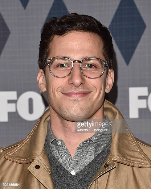 Actor Andy Samberg attends the FOX Winter TCA 2016 AllStar Party at The Langham Huntington Hotel and Spa on January 15 2016 in Pasadena California