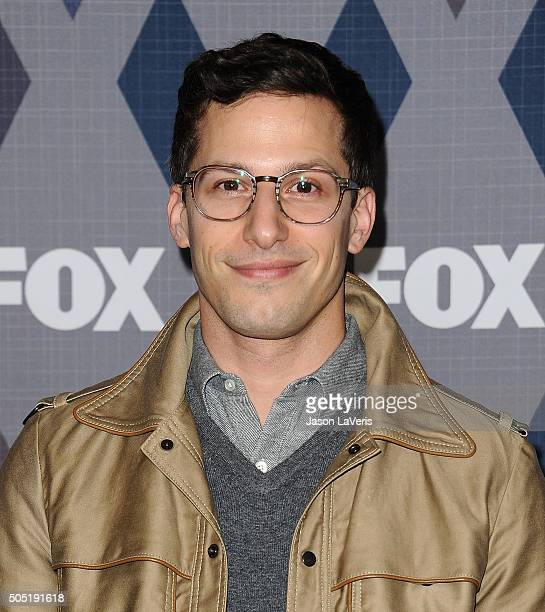 Actor Andy Samberg attends the FOX winter TCA 2016 All-Star party at The Langham Huntington Hotel and Spa on January 15, 2016 in Pasadena, California.