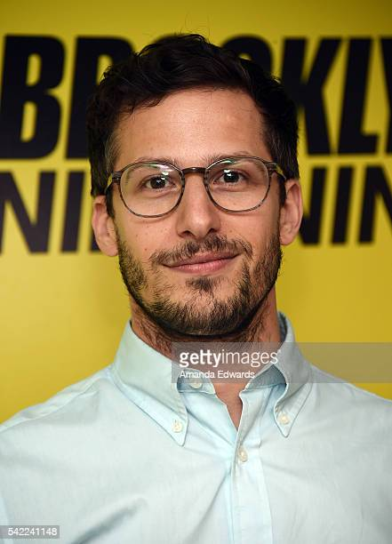 Actor Andy Samberg attends the FYC @ UCB For 'Brooklyn NineNine' event at the UCB Sunset Theater on June 22 2016 in Los Angeles California