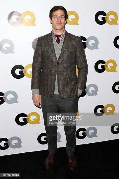 Actor Andy Samberg attends the GQ Men Of The Year Party at The Ebell Club of Los Angeles on November 12, 2013 in Los Angeles, California.