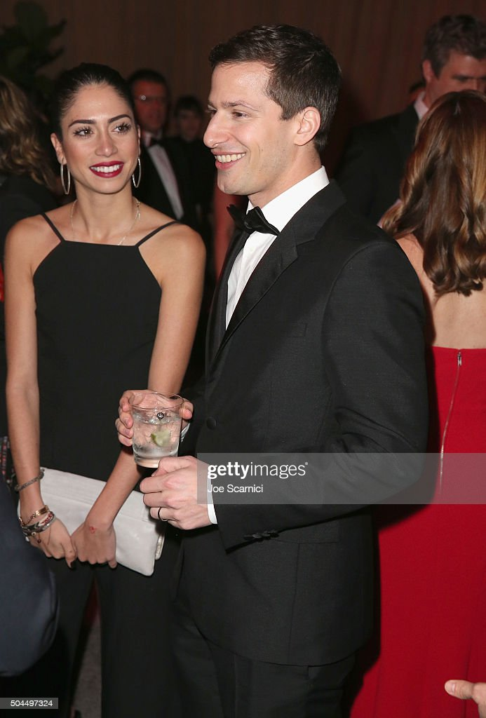 Actor Andy Samberg attends The Weinstein Company and Netflix Golden Globe Party, presented with DeLeon Tequila, Laura Mercier, Lindt Chocolate, Marie Claire and Hearts On Fire at The Beverly Hilton Hotel on January 10, 2016 in Beverly Hills, California.