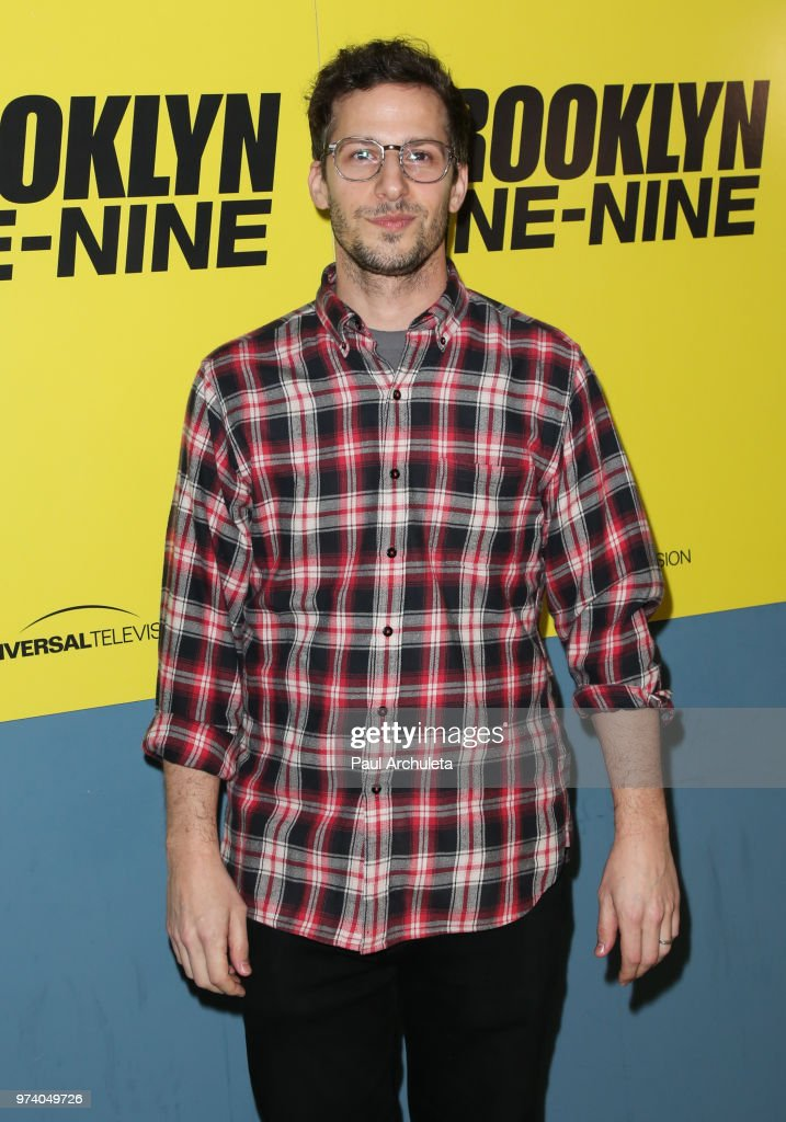 Actor Andy Samberg attends Universal Television's FYC of 'Brooklyn Nine-Nine' at UCB Sunset Theater on June 13, 2018 in Los Angeles, California.