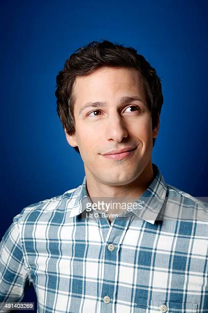 Actor Andy Samberg is photographed for Los Angeles Times on April 7 2014 in Hollywood California PUBLISHED IMAGE CREDIT MUST READ Liz OBaylen/Los...