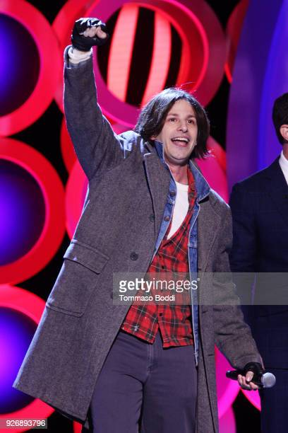 Actor Andy Samberg performs onstage during the 2018 Film Independent Spirit Awards on March 3, 2018 in Santa Monica, California.