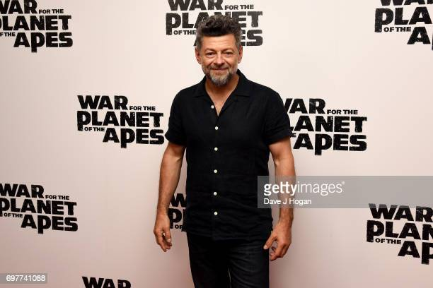 "Actor Andy Serkis attends a screening of ""War For The Planet Of The Apes"" at The Ham Yard Hotel on June 19, 2017 in London, England."