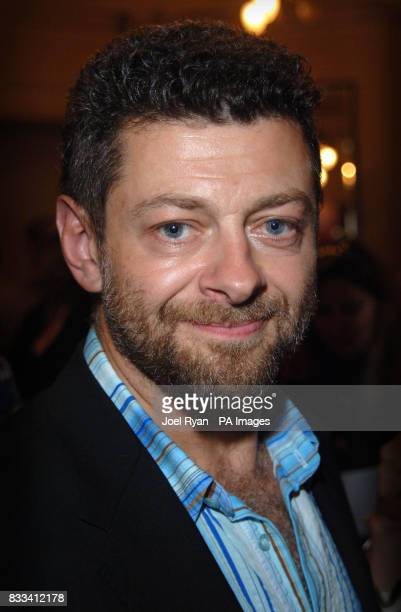 Actor Andy Serkis attends Angelina Ballerina's Star Performance at the start of the 12 week regional tour across the UK at the New Wimbledon Theatre...
