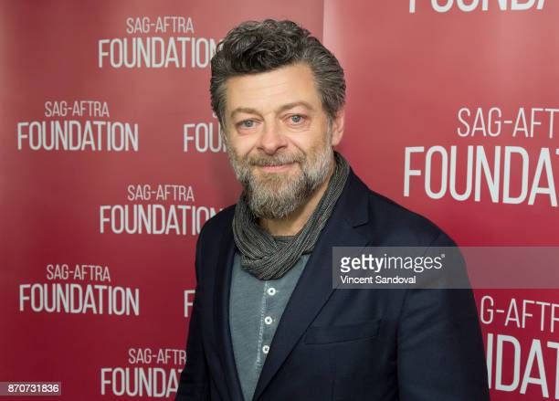 Actor Andy Serkis attends SAGAFTRA Foundation Conversations screening of 'War For The Planet Of The Apes' at SAGAFTRA Foundation Screening Room on...