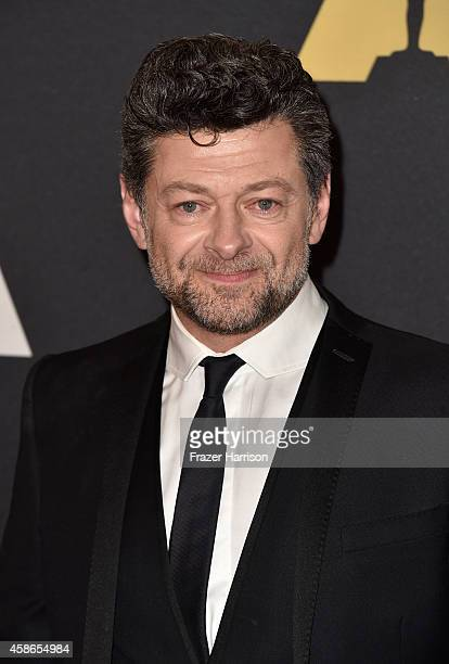 Actor Andy Serkis attends the Academy Of Motion Picture Arts And Sciences' 2014 Governors Awards at The Ray Dolby Ballroom at Hollywood Highland...