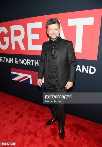 Actor Andy Serkis attends the Great British Film Reception honoring the British nominees of The 90th Annual Academy Awards on March 2 2018 in Los...
