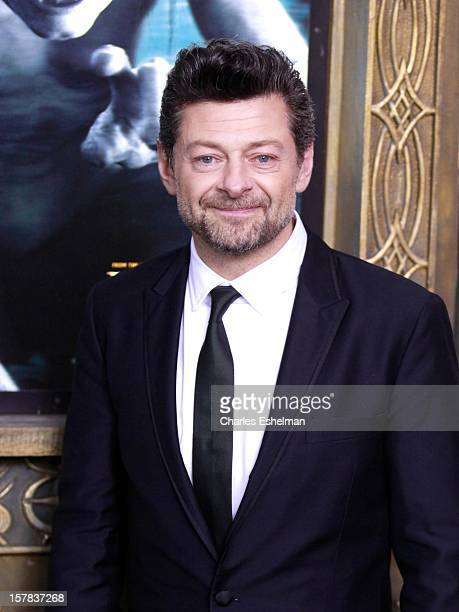"Actor Andy Serkis attends ""The Hobbit: An Unexpected Journey"" premiere at the Ziegfeld Theater on December 6, 2012 in New York City."