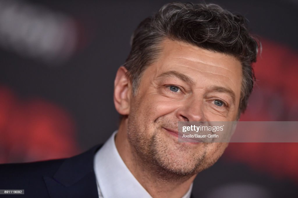Actor Andy Serkis attends the Los Angeles premiere of 'Star Wars: The Last Jedi' at The Shrine Auditorium on December 9, 2017 in Los Angeles, California.