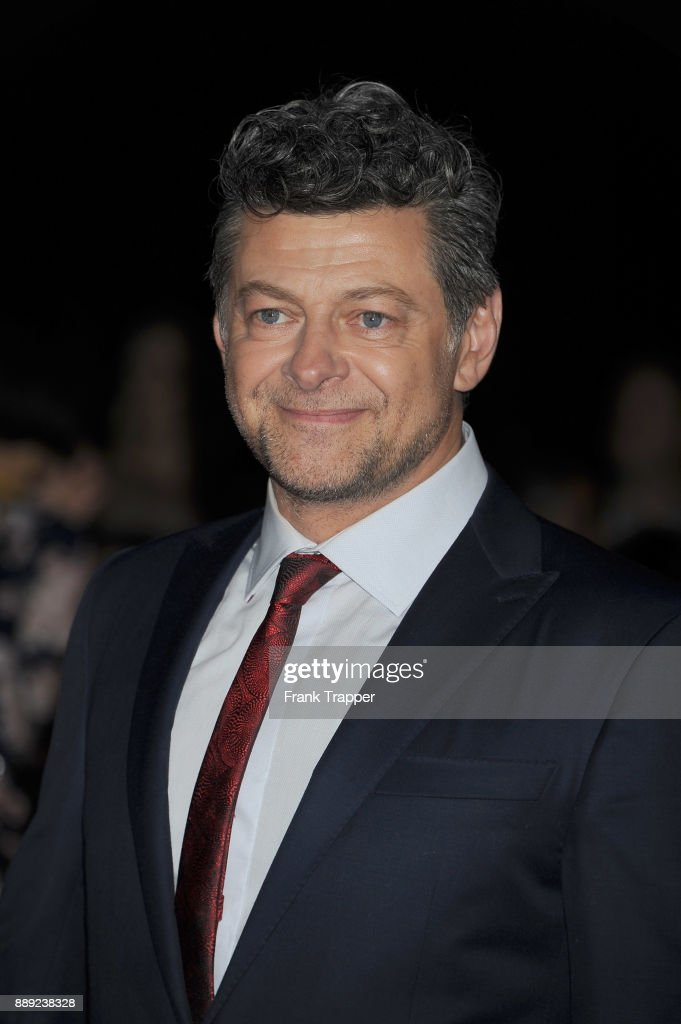 Actor Andy Serkis attends the premiere of Disney Pictures and Lucasfilm's 'Star Wars: The Last Jedi' held at The Shrine Auditorium on December 9, 2017 in Los Angeles, California.