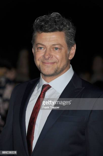 Actor Andy Serkis attends the premiere of Disney Pictures and Lucasfilm's 'Star Wars The Last Jedi' held at The Shrine Auditorium on December 9 2017...