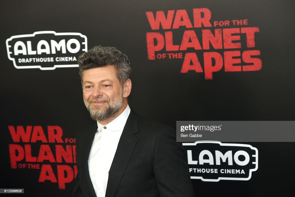 Actor Andy Serkis attends the 'War for the Planet Of The Apes' New York Premiere at SVA Theater on July 10, 2017 in New York City.