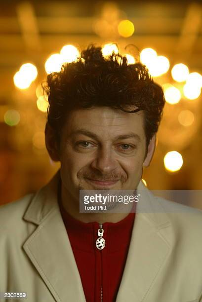 Actor Andy Serkis is photographed in New York City on December 2 2002 during a press event for The Lord of The Rings The Two Towers Serkis plays the...