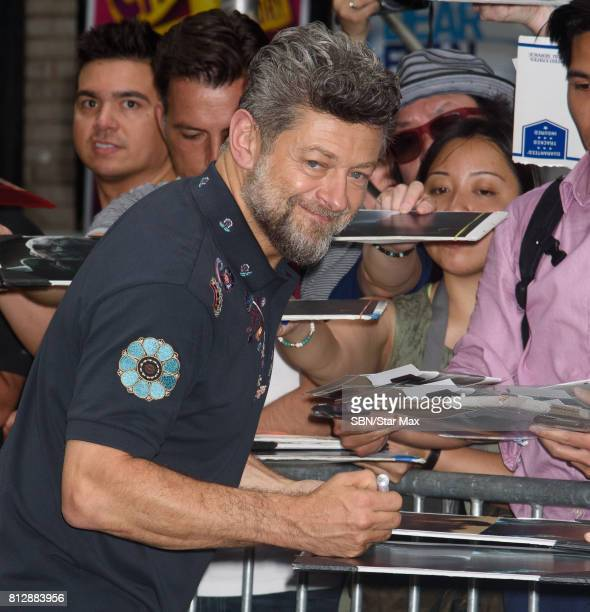 Actor Andy Serkis is seen on July 11 2017 in New York City