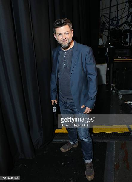 Actor Andy Serkis visits 106 Park at BET studio on July 9 2014 in New York City