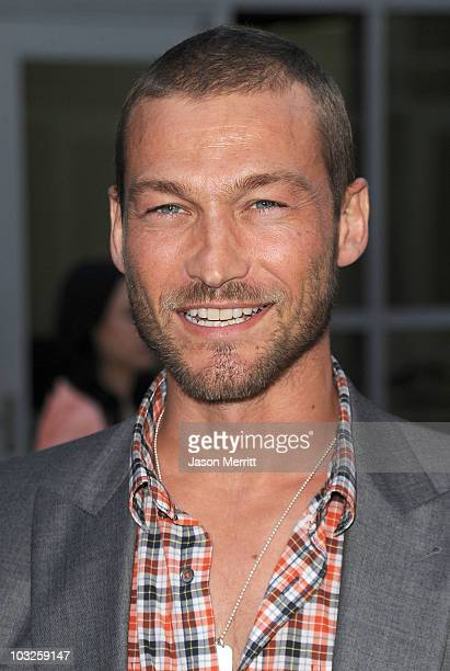 Actor Andy Whitfield arrives at the premiere of Paramount Pictures' 'Middle Men' on August 5 2010 in Los Angeles California