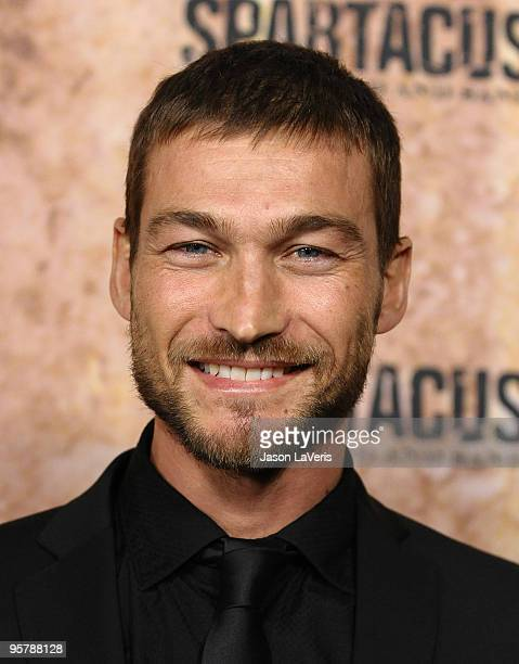 Actor Andy Whitfield attends a screening of 'Spartacus Blood and Sand' at the Billy Wilder Theater at the Hammer Museum on January 14 2010 in Los...